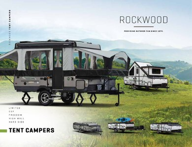 2020 Forest River Rockwood Tent Campers Brochure page 1