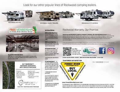 2020 Forest River Rockwood Tent Campers Brochure page 16