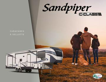 2020 Forest River Sandpiper C Class French Brochure