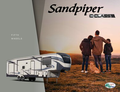 2020 Forest River Sandpiper C Class Brochure page 1