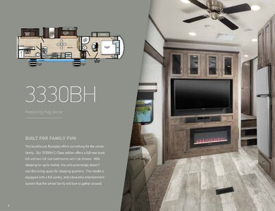2020 Forest River Sandpiper C Class Brochure page 2
