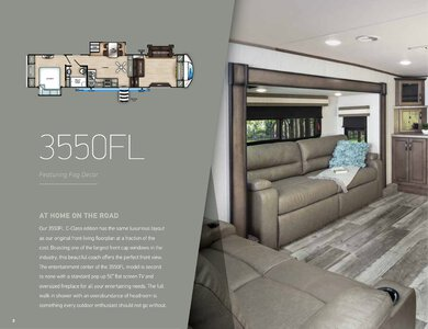 2020 Forest River Sandpiper C Class Brochure page 4