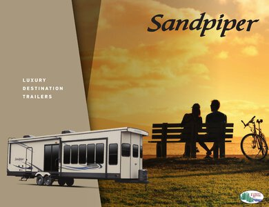 2020 Forest River Sandpiper Destination Brochure page 1