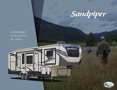 2020 Forest River Sandpiper Fifth Wheels French Brochure page 1