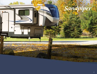 2020 Forest River Sandpiper Fifth Wheels French Brochure page 3