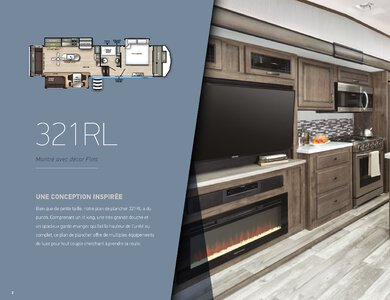 2020 Forest River Sandpiper Fifth Wheels French Brochure page 4