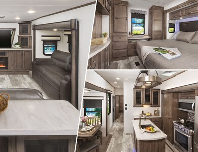 2020 Forest River Sandpiper Fifth Wheels French Brochure page 7
