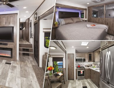 2020 Forest River Sandpiper Fifth Wheels French Brochure page 11