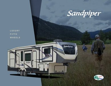 2020 Forest River Sandpiper Fifth Wheels Brochure page 1