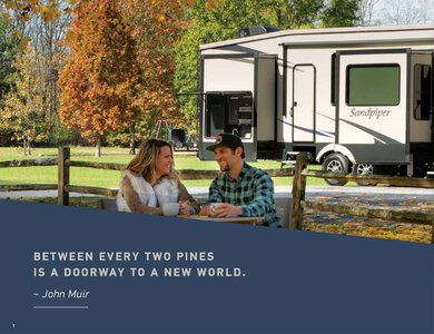 2020 Forest River Sandpiper Fifth Wheels Brochure page 2