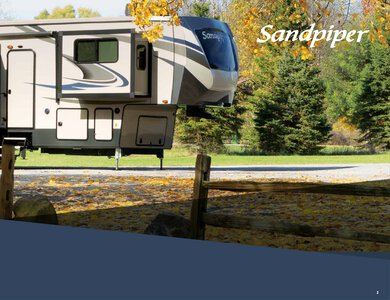 2020 Forest River Sandpiper Fifth Wheels Brochure page 3