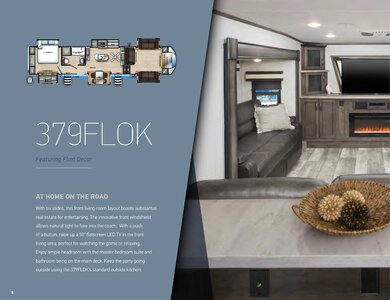 2020 Forest River Sandpiper Fifth Wheels Brochure page 6