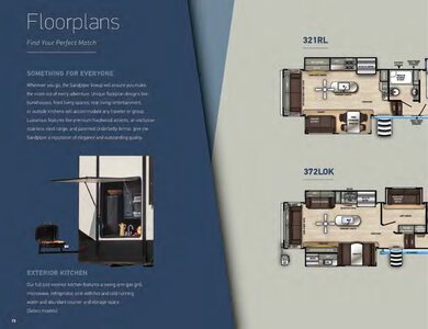 2020 Forest River Sandpiper Fifth Wheels Brochure page 16
