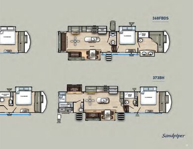 2020 Forest River Sandpiper Fifth Wheels Brochure page 17