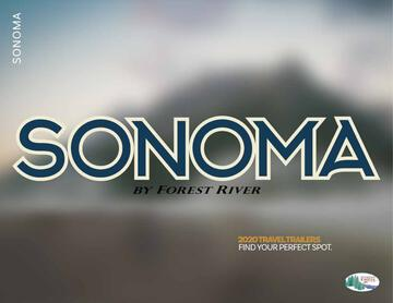 2020 Forest River Sonoma Brochure