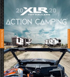 2020 Forest River XLR Hyper Lite Brochure page 1