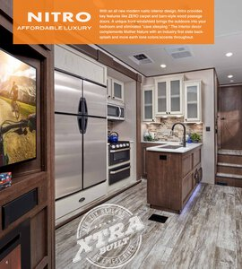 2020 Forest River XLR Hyper Lite Brochure page 4