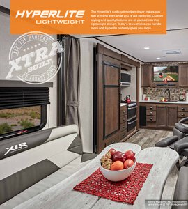 2020 Forest River XLR Hyper Lite Brochure page 8