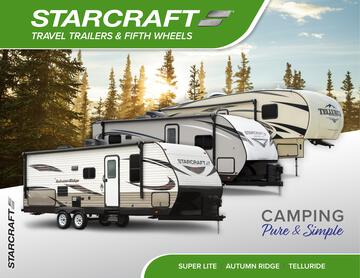 2020 Starcraft Automn Ridge Travel Trailer Brochure