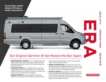 2020 Winnebago Era Brochure