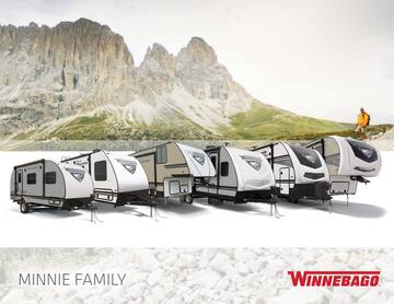 2020 Winnebago Minnie Family Brochure