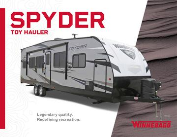2020 Winnebago Spyder Toy Hauler Brochure