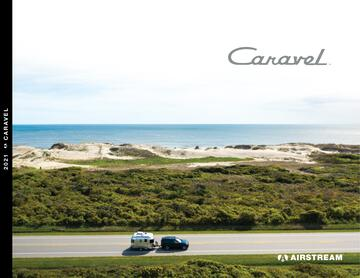 2021 Airstream Caravel Travel Trailer Brochure