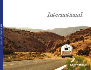 2021 Airstream International Travel Trailer Brochure