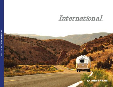 2021 Airstream International Travel Trailer Brochure page 1