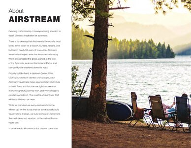 2021 Airstream International Travel Trailer Brochure page 2