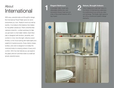 2021 Airstream International Travel Trailer Brochure page 4