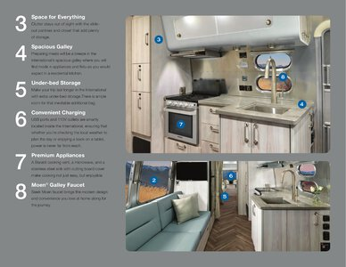 2021 Airstream International Travel Trailer Brochure page 5