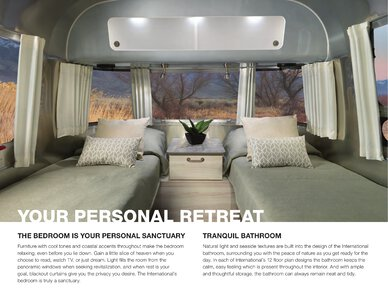 2021 Airstream International Travel Trailer Brochure page 6
