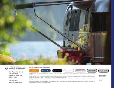 2021 Airstream International Travel Trailer Brochure page 18
