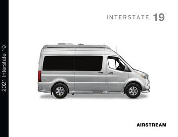 2021 Airstream Interstate 19 Touring Coach Brochure