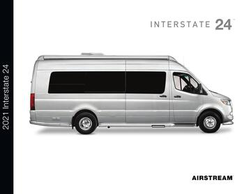 2021 Airstream Interstate 24 Touring Coach Brochure