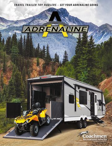 2021 Coachmen Adrenaline Brochure
