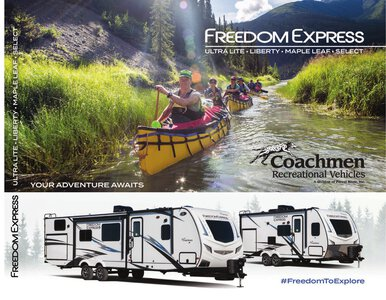 2021 Coachmen Freedom Express Brochure page 1