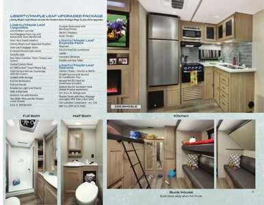 2021 Coachmen Freedom Express Brochure page 9