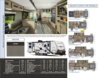 2021 Coachmen Freedom Express Brochure page 10