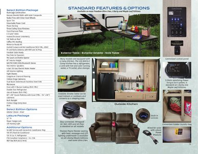 2021 Coachmen Freedom Express Brochure page 11