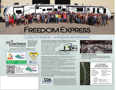 2021 Coachmen Freedom Express Brochure page 12