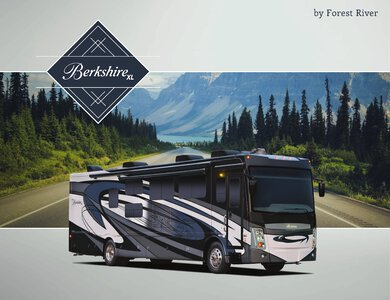2021 Forest River Berkshire XL Brochure page 1