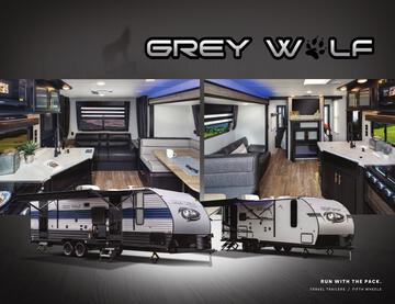 2021 Forest River Cherokee Grey Wolf Brochure