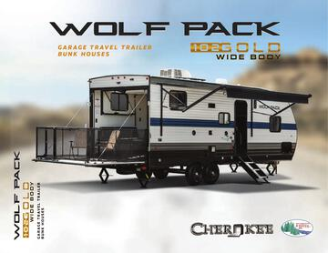 2021 Forest River Cherokee Wolf Pack Gold Series Brochure