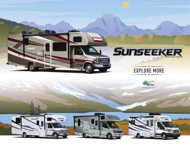 2021 Forest River Sunseeker Brochure page 1