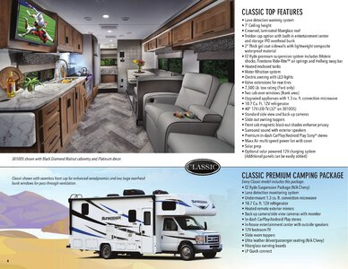 2021 Forest River Sunseeker Brochure page 4
