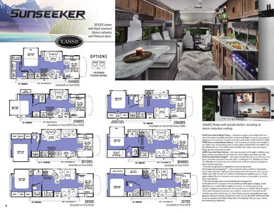 2021 Forest River Sunseeker Brochure page 6