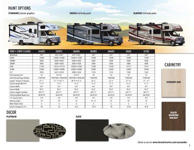 2021 Forest River Sunseeker Brochure page 7