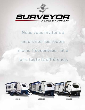 2021 Forest River Surveyor French Brochure